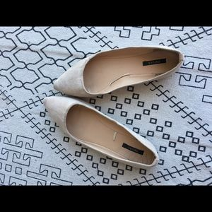 Forever21 pointed toe flats.